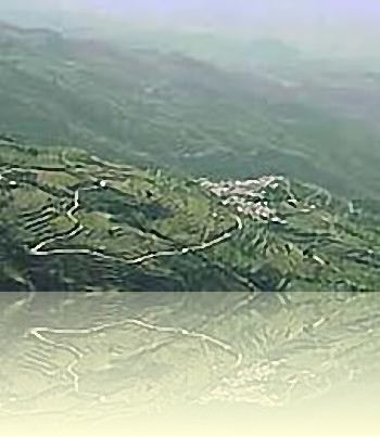 The west side of the Alpujarras valley